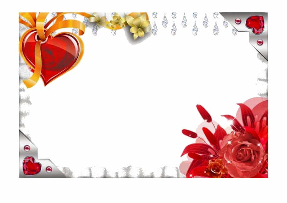 Love Frame Download Png Love Photo Frame Png Transparent Png