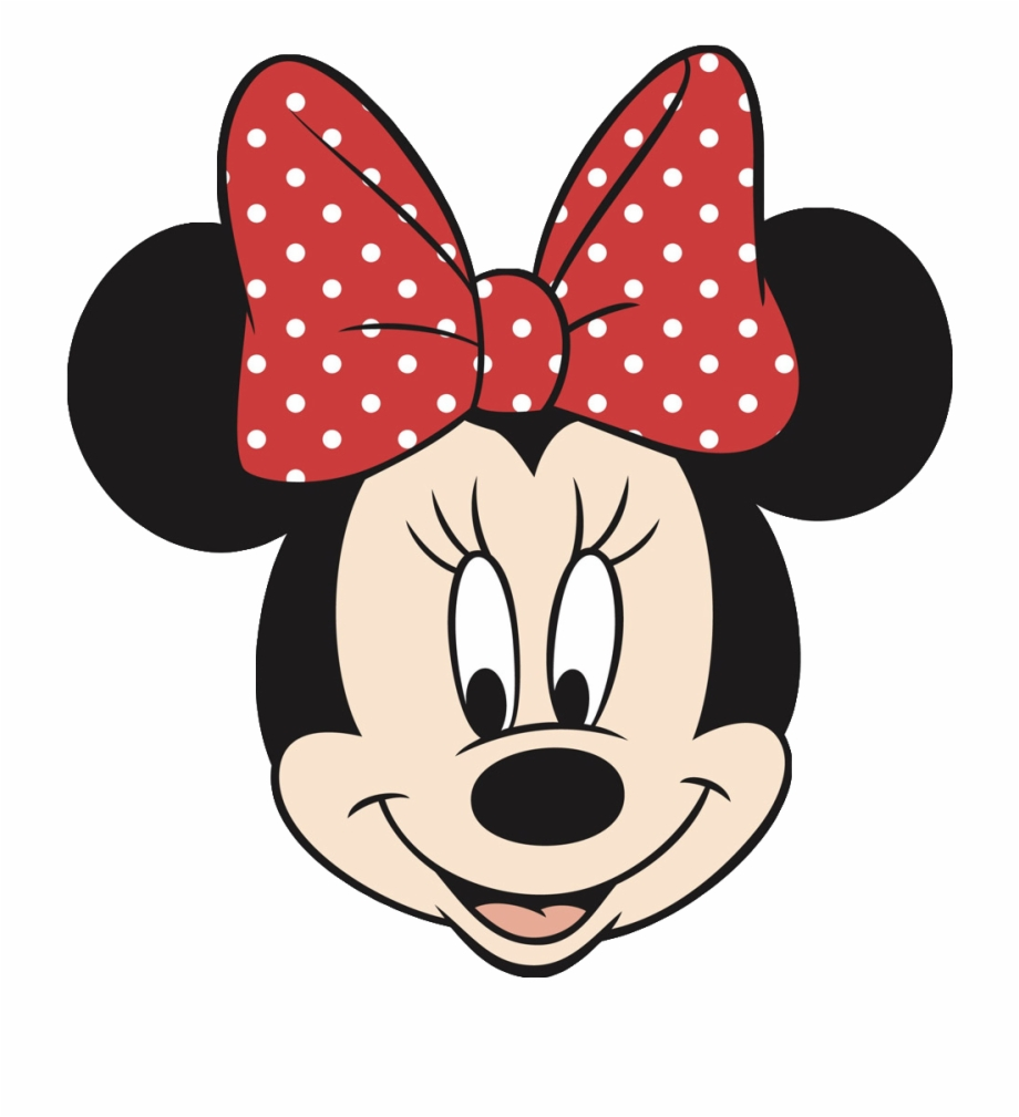 Minnie Mouse Face Cake Template Minnie Mouse Coloring Pages Face Transparent Png Download 56735 Vippng