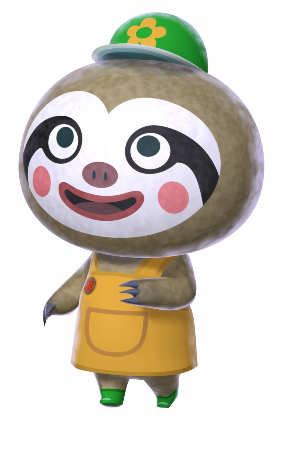 Sloth Clipart Garden Animal Crossing New Leaf Characters Png