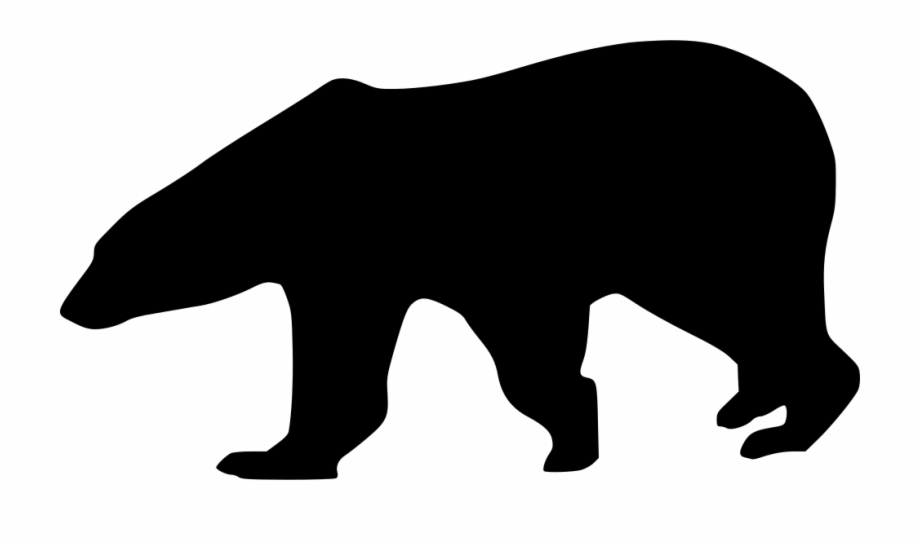 Polar Bear Svg Png Icon Free Download Polar Bear Silhouette Svg Transparent Png Download 504219 Vippng