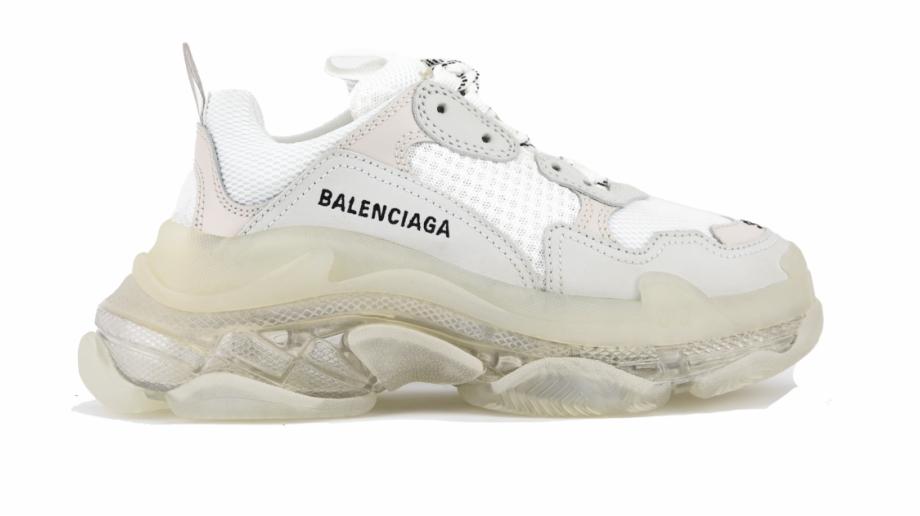 Balenciaga Triple S Sneakers Cream White Balenciaga