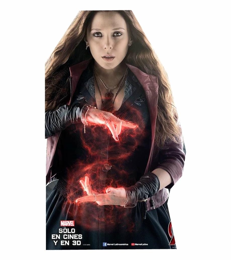 Png De Scarlet Witch Wanda Maximoff Elizabeth Olsen Scarlet