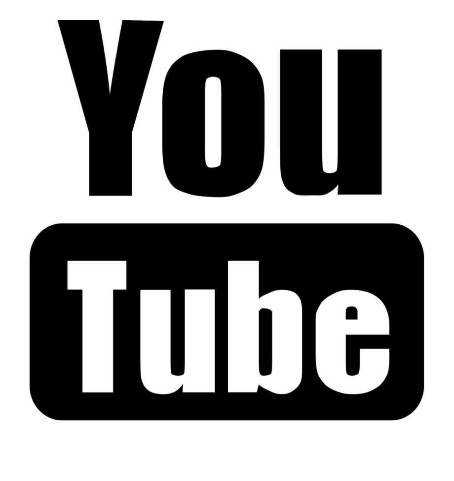 Free Png Youtube Icon Black And White Png Transparent Png Download 5030118 Vippng