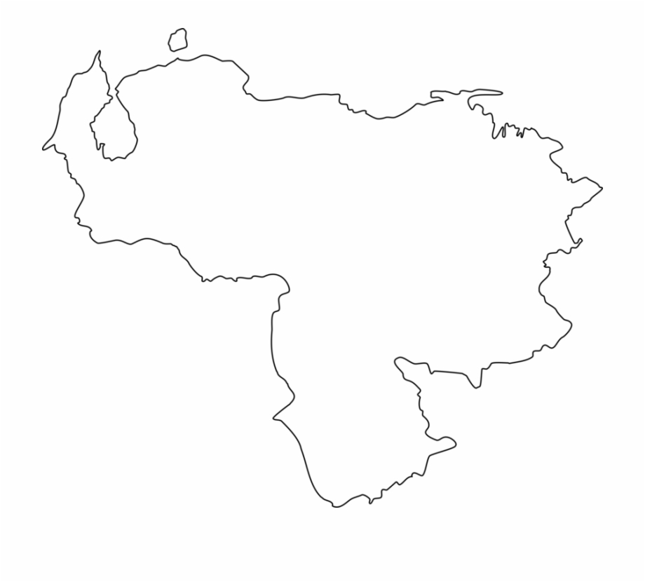 Mapa De Venezuela Png Venezuela Map Png Transparent Png Download 5034344 Vippng