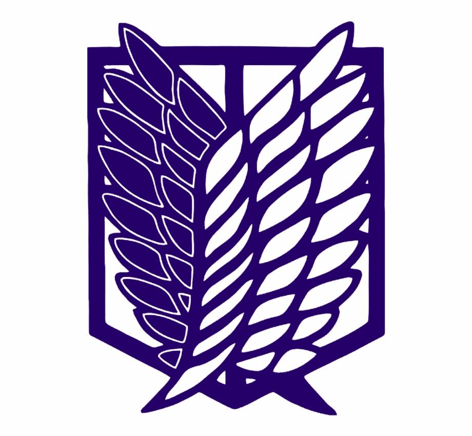 Attackontitan Attack On Titan Logo Shingeki No Kyojin Stickers Transparent Png Download 5050902 Vippng