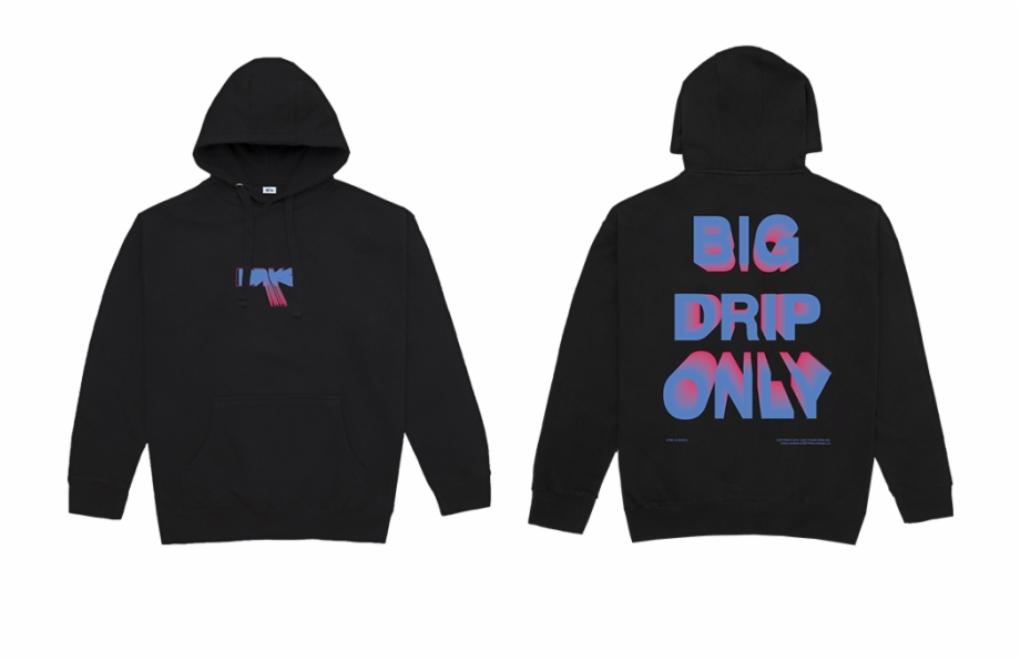 Drip Png Big Drip Only Sweatshirt Digital Album Aape X Dragon Ball Broly 5065851 Vippng