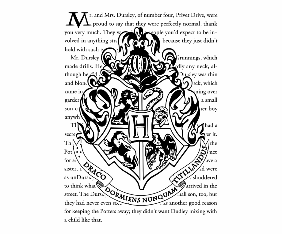 Movies Personal Use Hogwarts Crest Hogwarts Crest Harry