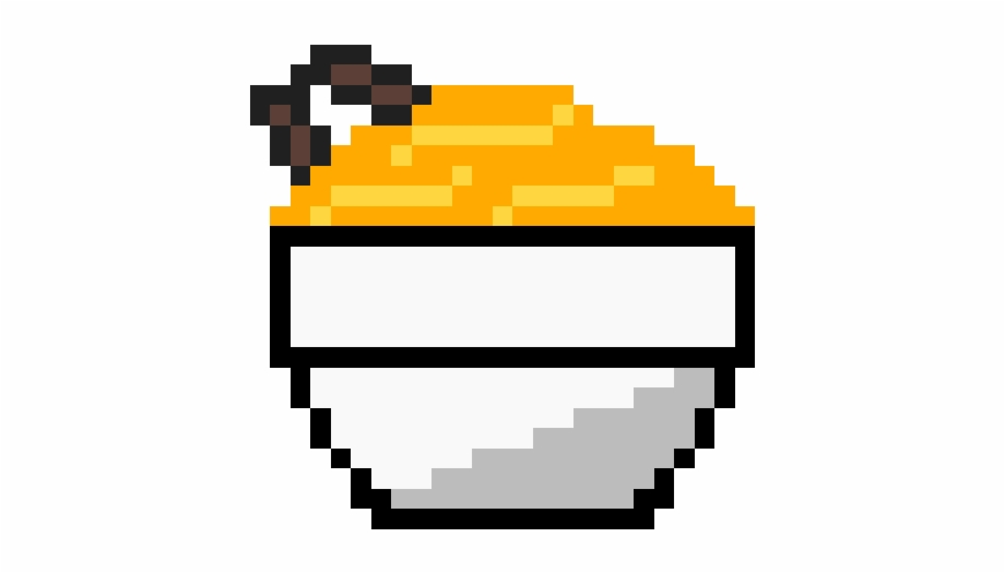 Send Noods Pixel Art Kawaii Food Transparent Png