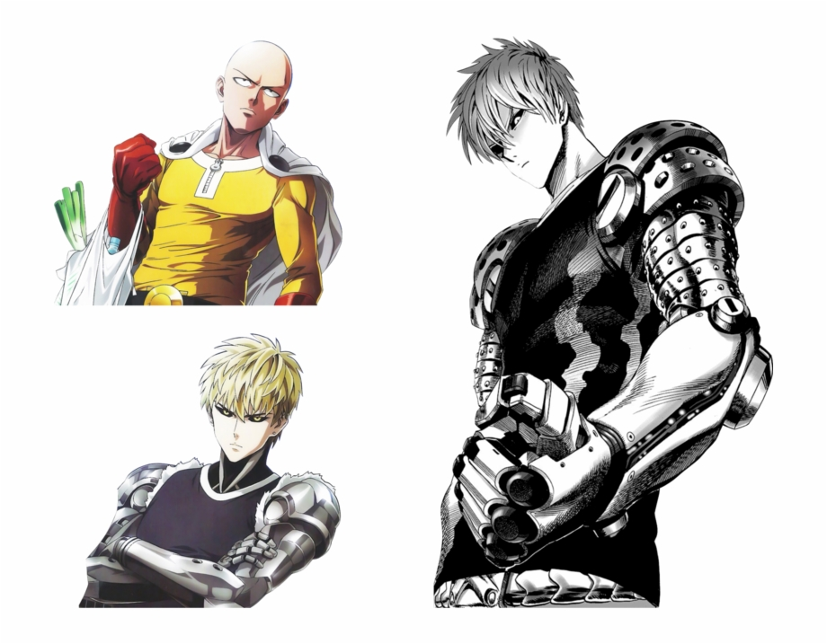 One Punch Man Clipart Genos One Punch Man Manga Genos Transparent Png Download 5085974 Vippng