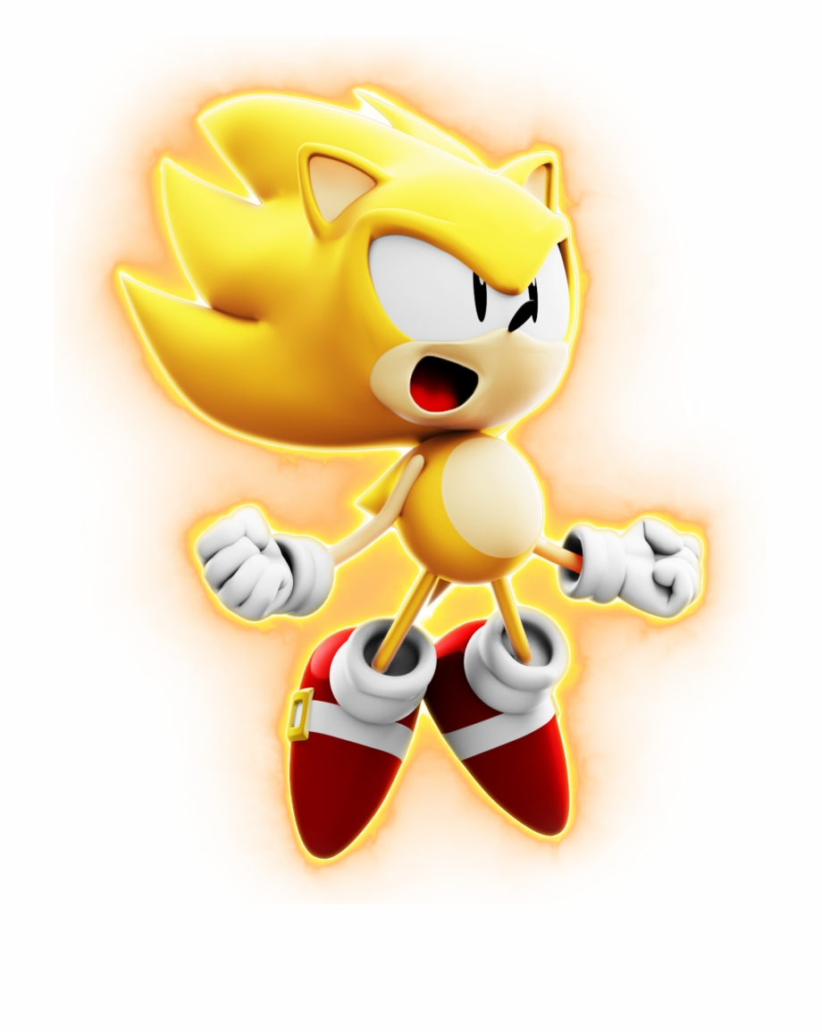 Bluepardoxyt Classic Super Sonic Render Classic Super Sonic The