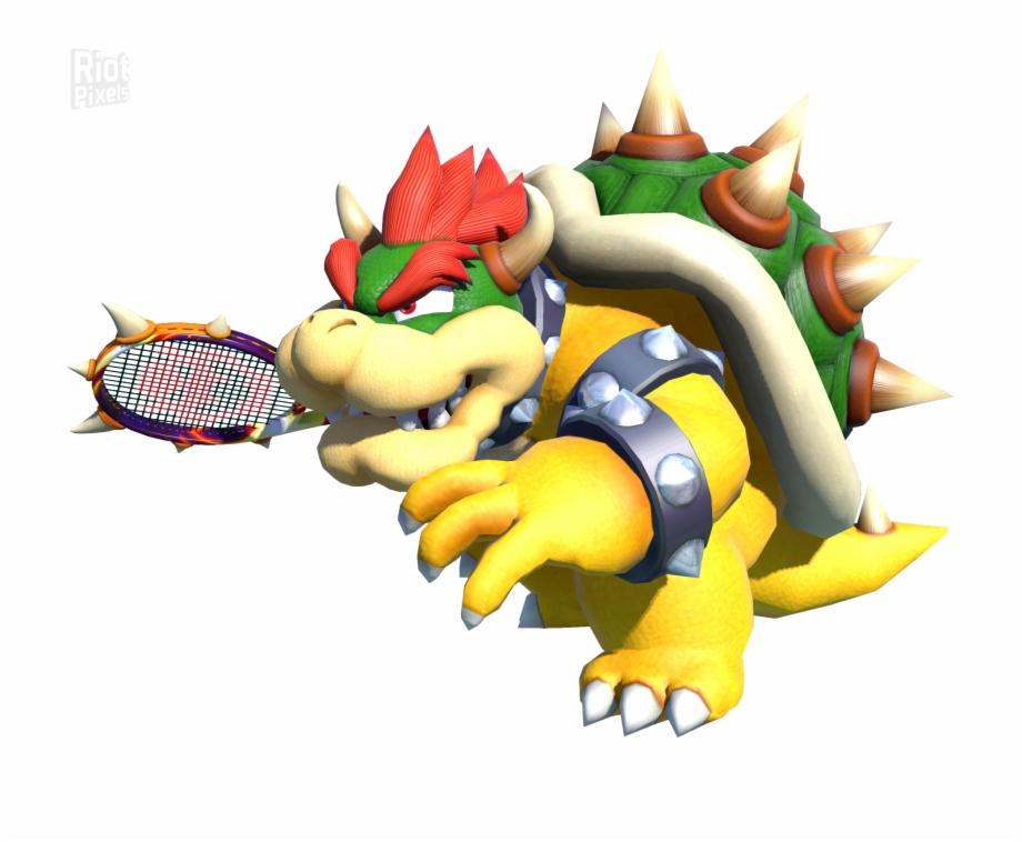 Mario Tennis Aces Bowser Transparent Png Download 5097130