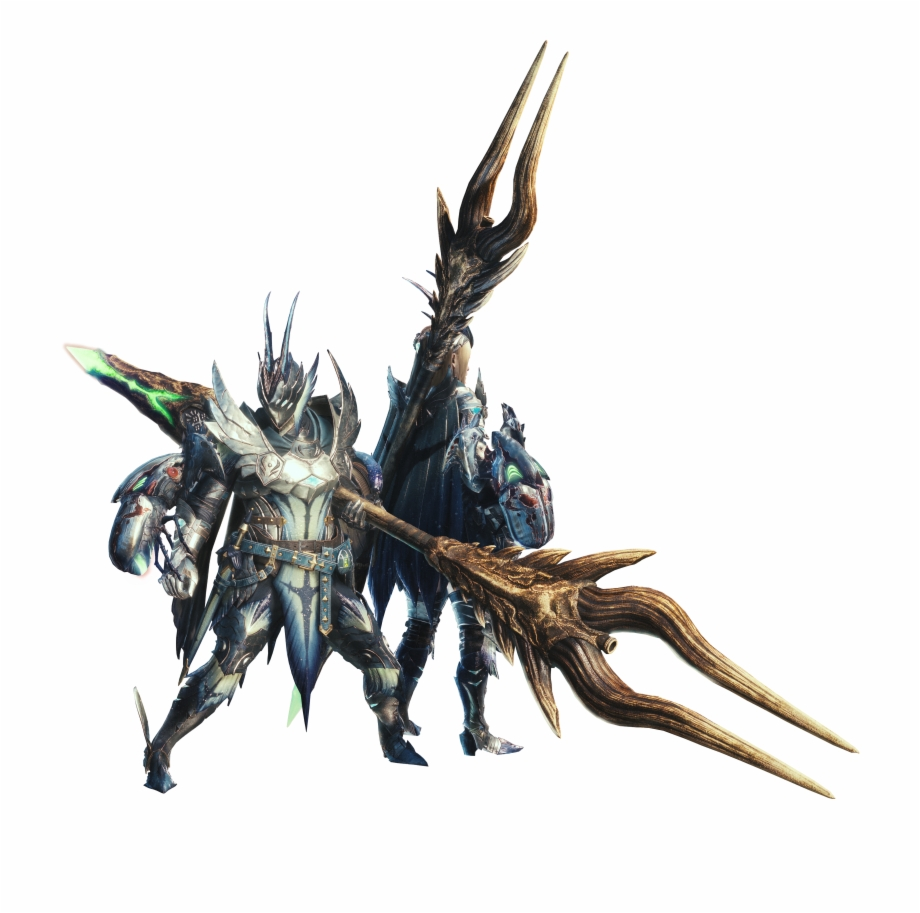 Monster Hunter World Artwork Transparent Png Download 5145136