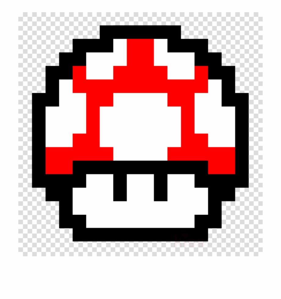 Mario Mushroom Pixel Clipart Super Mario World New Peter