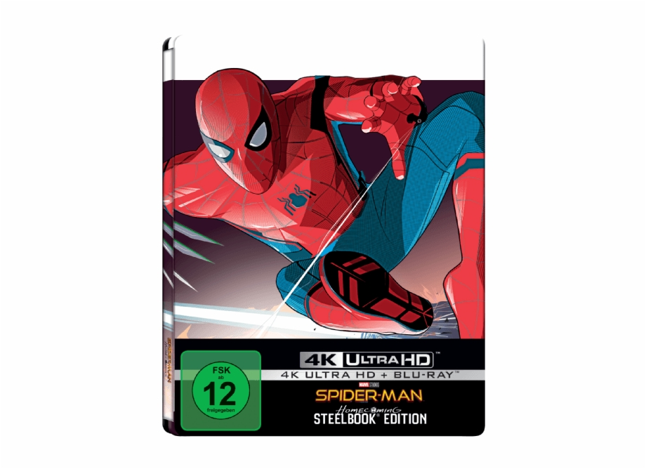 2043052009 Spider Man Homecoming 4k Ultra Spider Man Homecoming