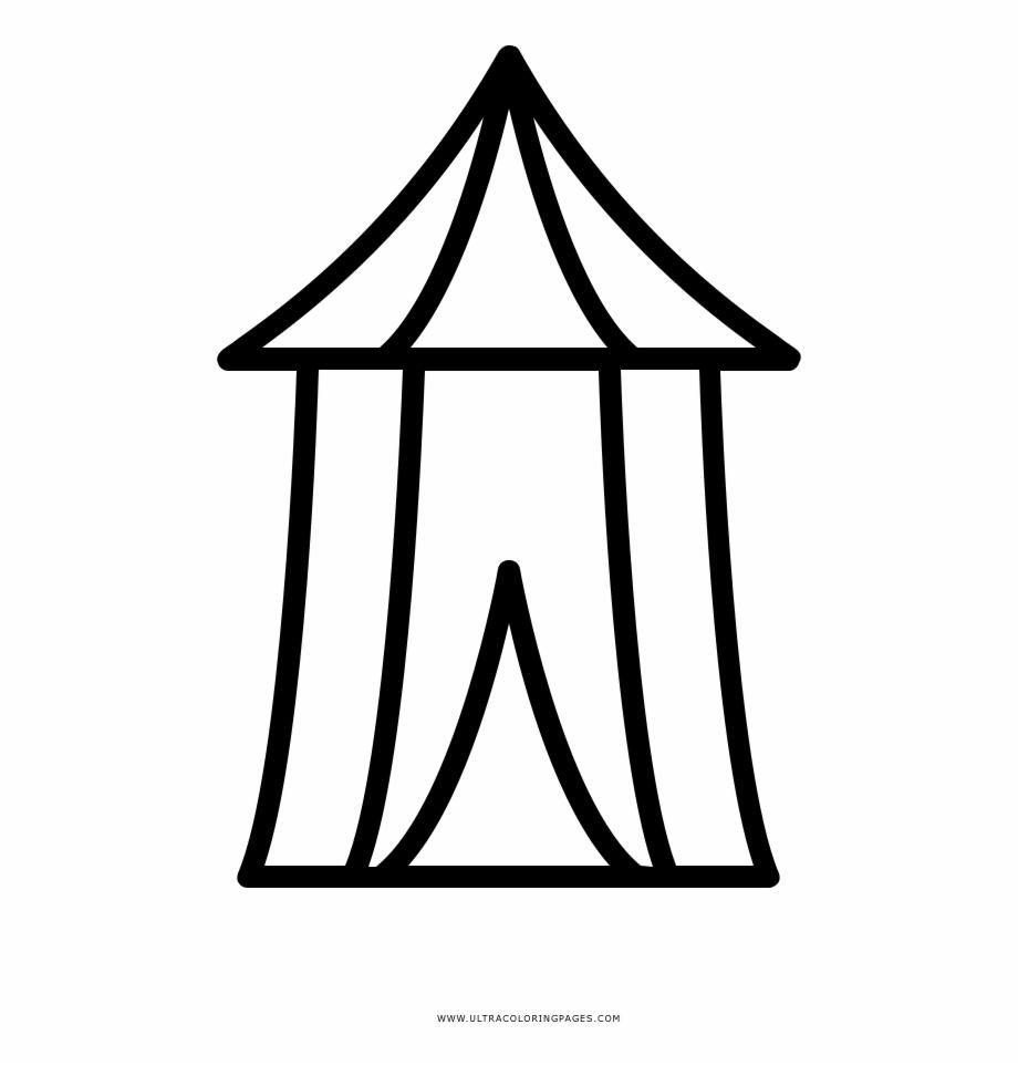 Circus Tent Coloring Page Tenda Do Circo Para Colorir