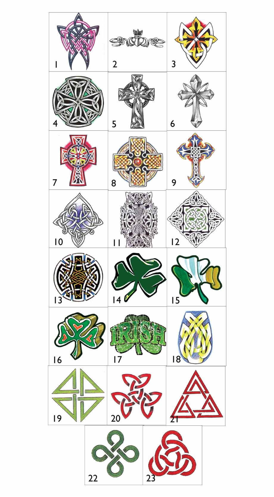 Irish Celtic Symbols And Their Meanings Irish Celtic ...
