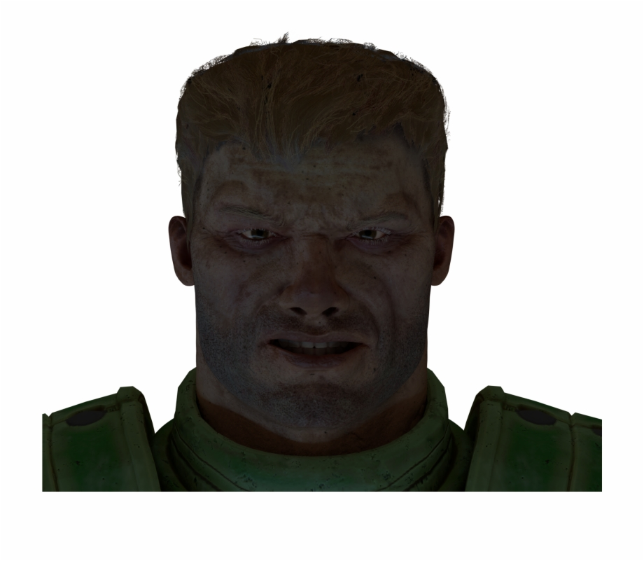 Doom Guy Can Not Smile Doomguy Face Quake Champions