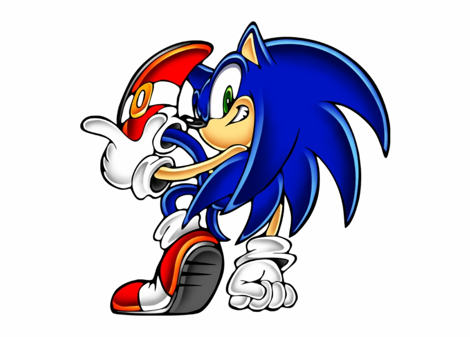 Sonic 6 From The Official Artwork Set For Sonicadventure Sonic Adventure Character Artwork Transparent Png Download 531653 Vippng