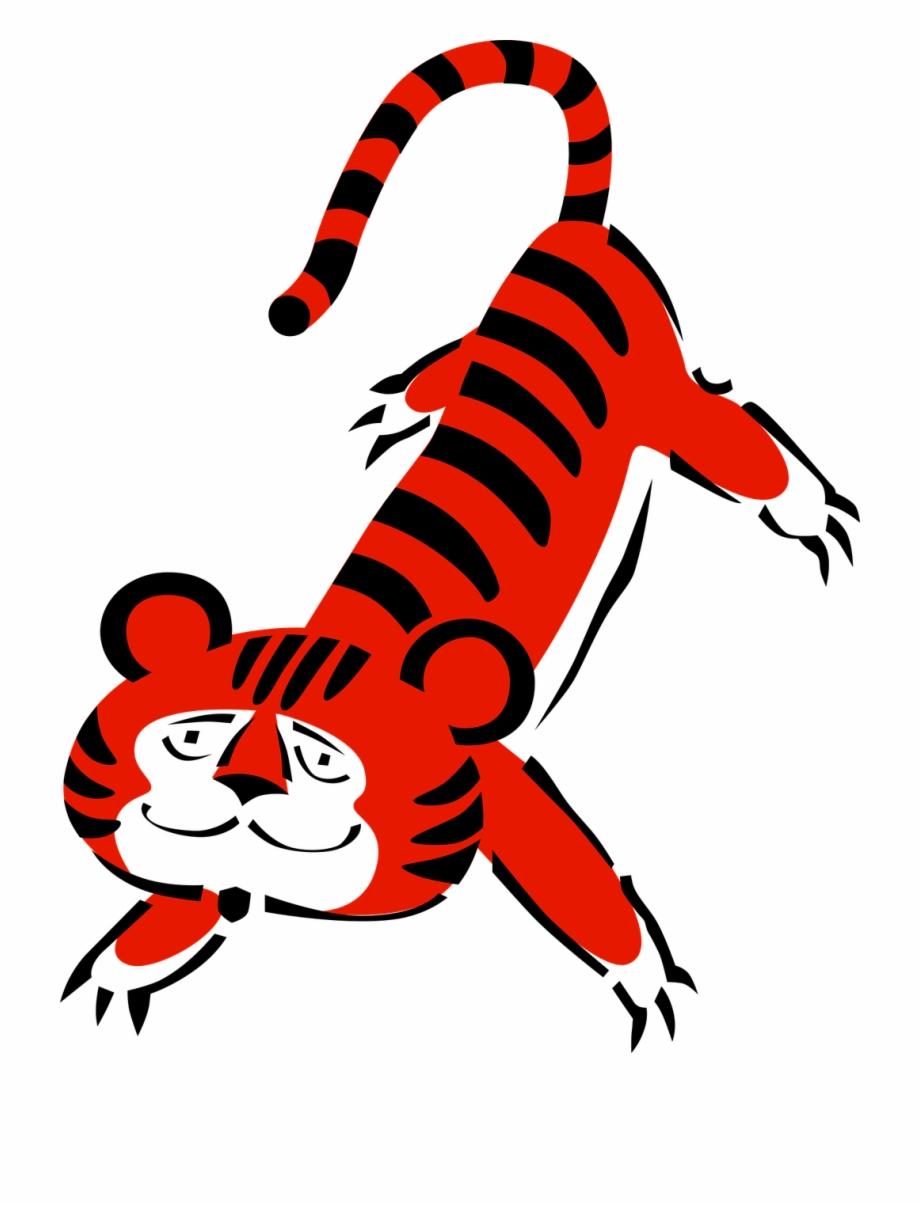 Vector Graphics Free Harimau Kartun Lucu
