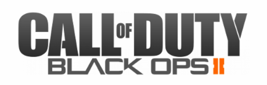 Clearlogo Clearlogo Ribbon Logo De Call Of Duty Black Ops 2 Transparent Png Download 5344084 Vippng