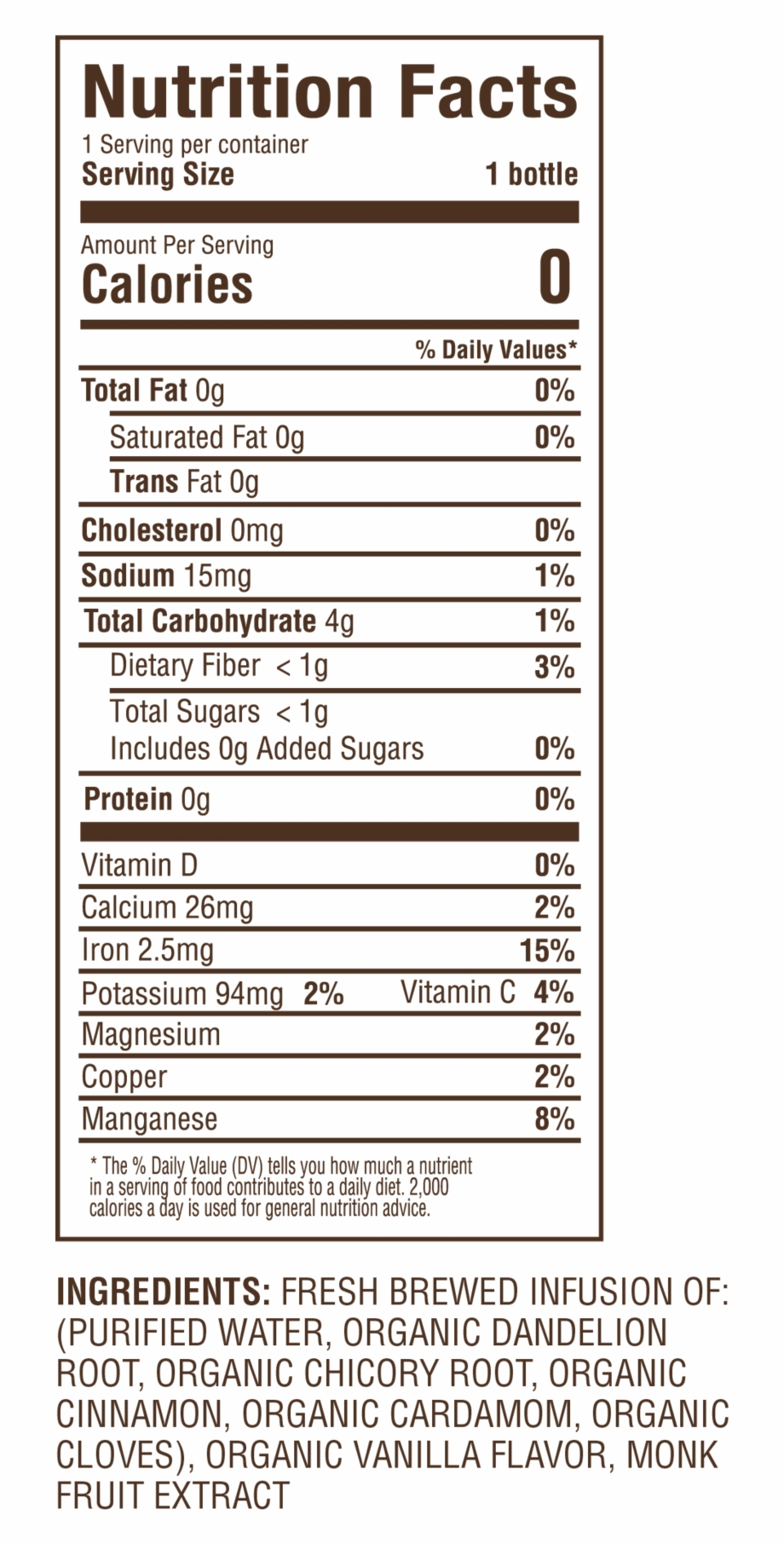 Nutrition Dandelion 01 Download Nutrition Facts Png Transparent Png Download 5372825 Vippng