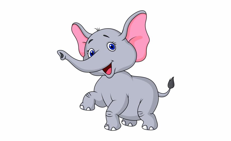Cute Elephant Cartoon, Cute Cartoon, Cute Baby Elephant ...