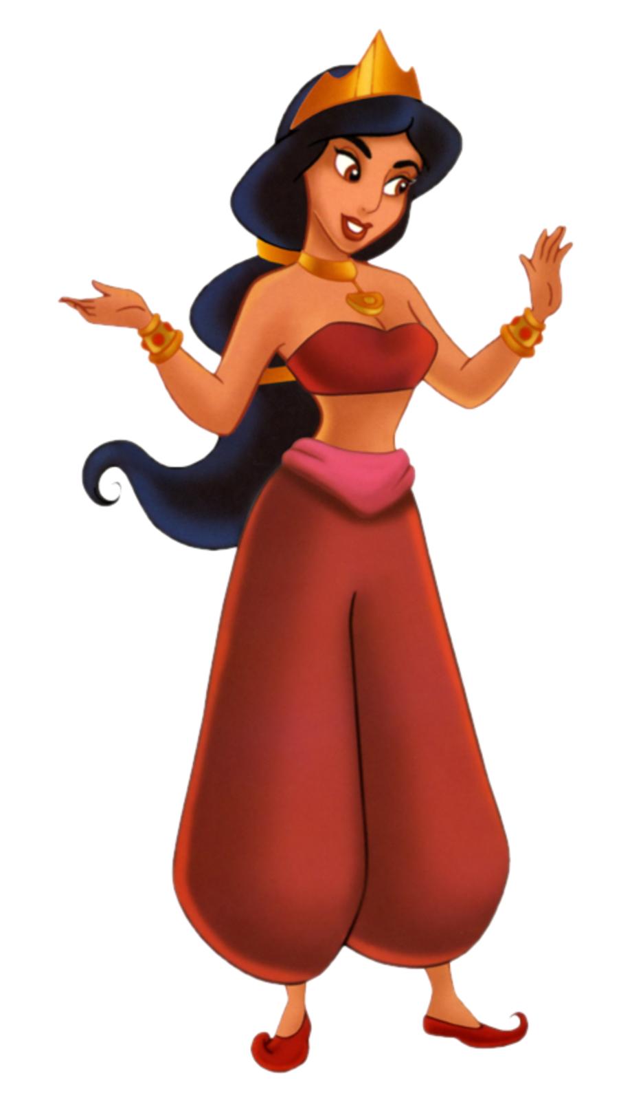 Princess Jasmine Red Dress Transparent Png Download 5422263