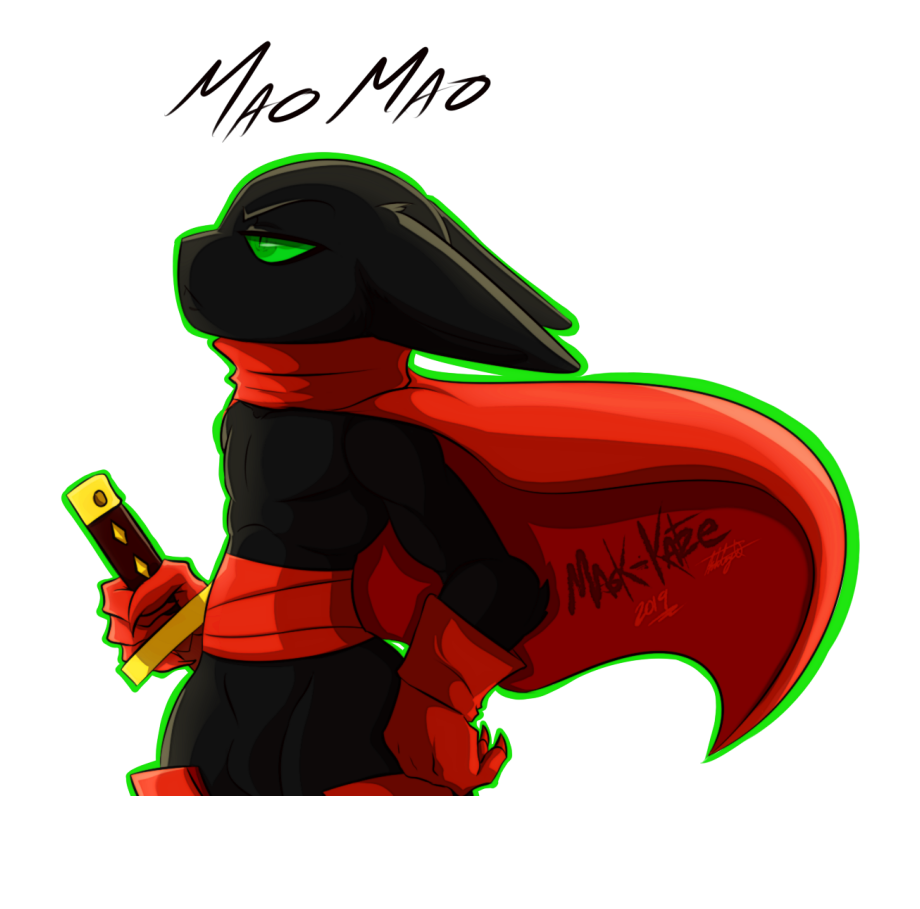 Mao Mao Heroes Of Pure Heart Furry Transparent Png Download