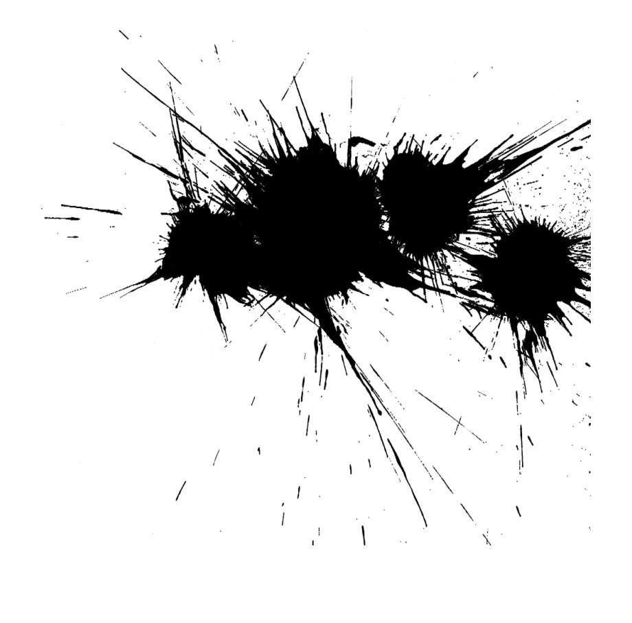 black paint png free black paint splatter transparent - black colour splash