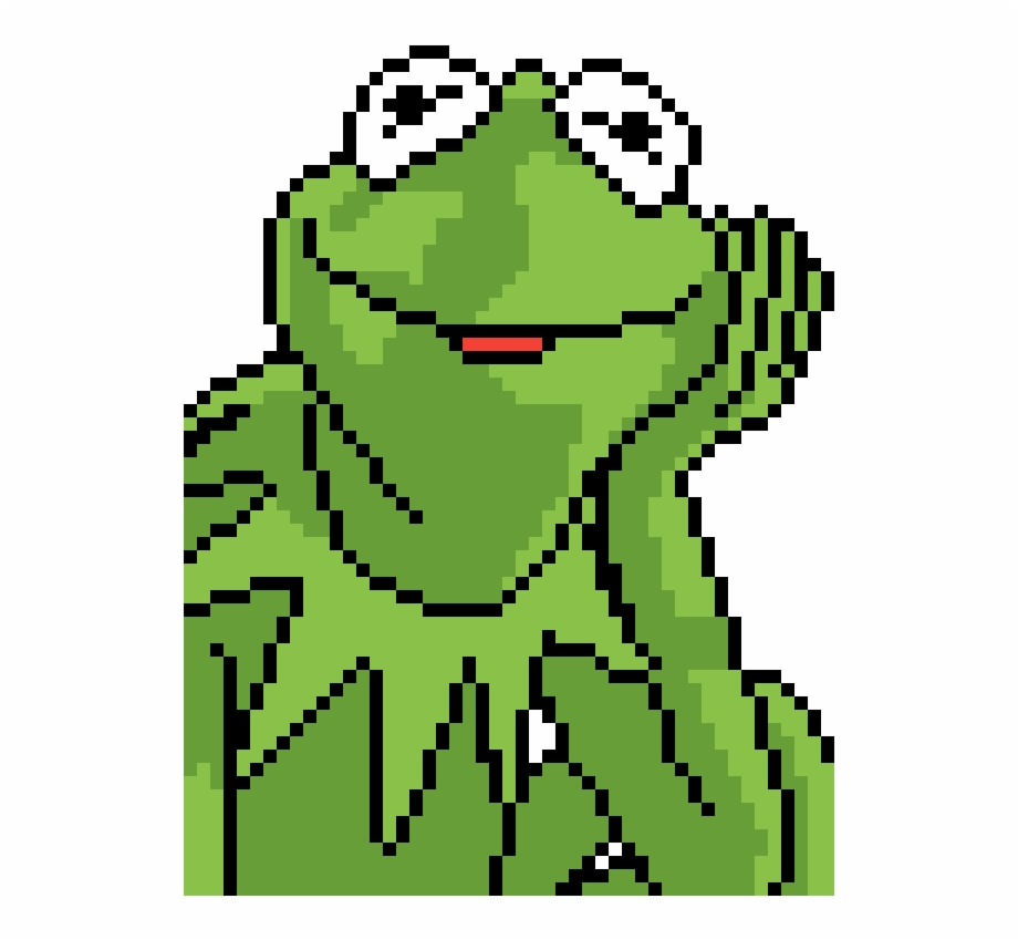 Kermit The Frog - Kermit Pixel Art