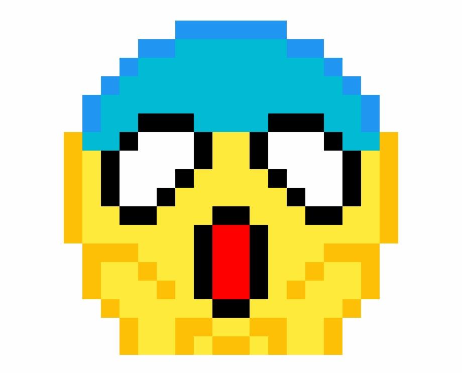 Pixel Art Emoji Png Download Emoji Pixel Art Drawings