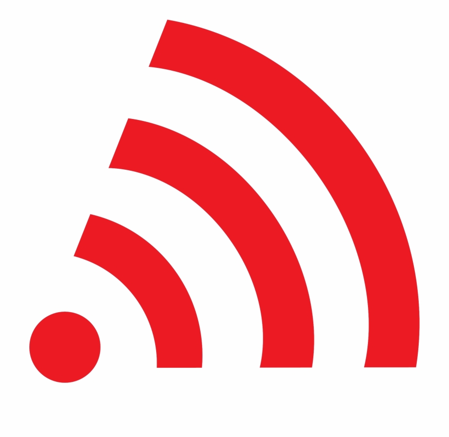 Wifi Symbol : Sign for remote internet access.