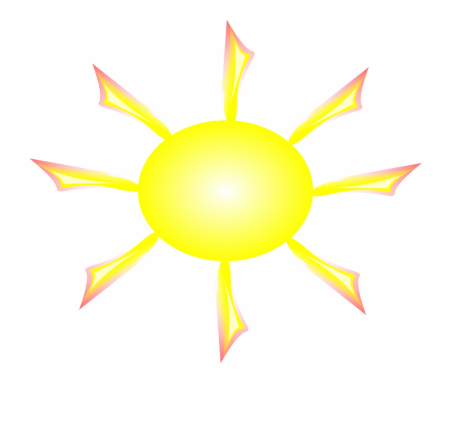 Glow Clipart Light Ray - Sun Gif Black Background | Transparent PNG