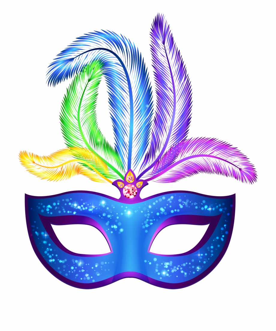 Png Royalty Free Library Blue Carnival Png Clip Art Mascaras De