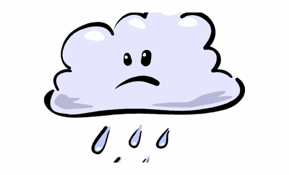 Cartoon Rain Cloud | Transparent PNG Download #613198 - Vippng