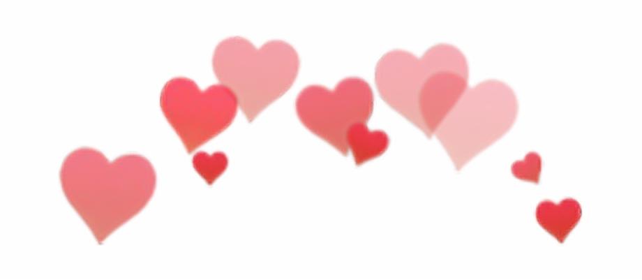 Photobooth Hearts Transparent Overlay Hearts Transparent