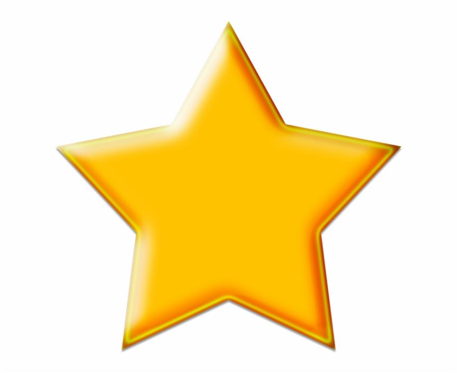 3d Rating Star Png Image Transparent Background Gold Star