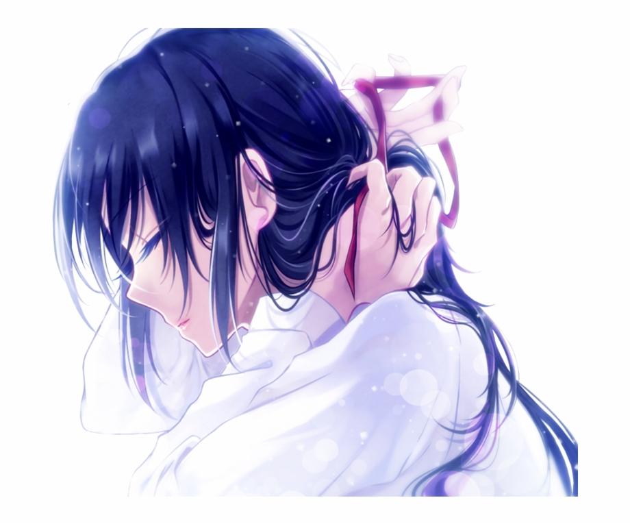 Anime Sad Girl Wattpadcover Anime Girl Animegirl Anime Sad Girl Transparent Png Download 639435 Vippng