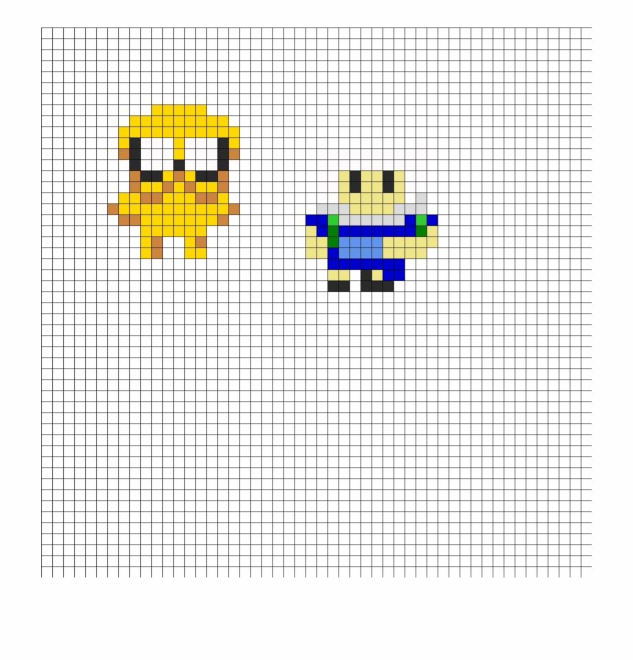 Finn And Jake Small Perler Bead Pattern Bead Sprite