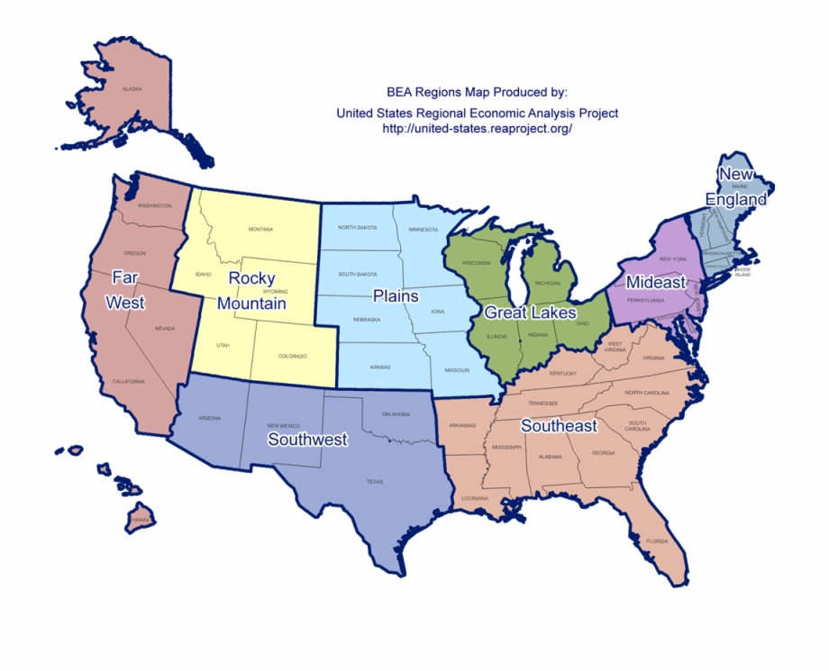 Georgia Regions Map Awesome Map The Us With 5 Regions ...