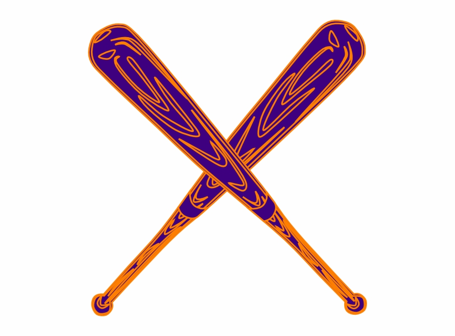 Baseball Bat Png Vector Tongkat Baseball Animasi Transparent