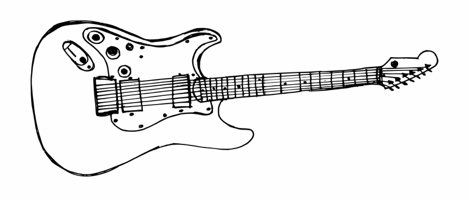 Free Download Electric Guitar Drawing Png Transparent Png Download 686127 Vippng