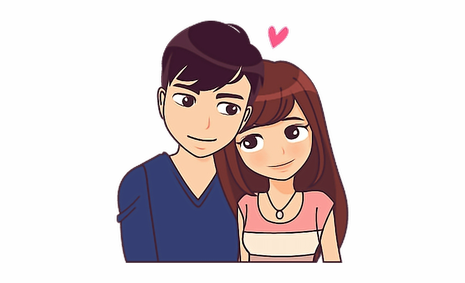 Couple Love Story Source New Love Couple Sticker Download
