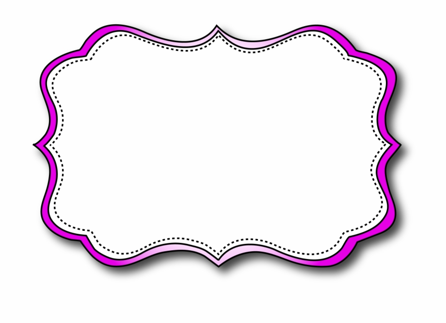 Printable Labels Planning Cute Frames Name Tags Frame