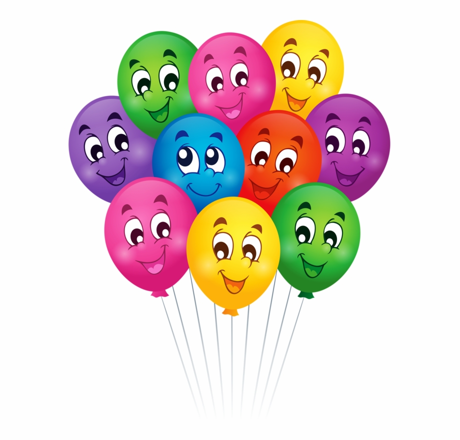 Balloon Clipart Smiley Face Balloons Cartoon Transparent Png Download 711476 Vippng