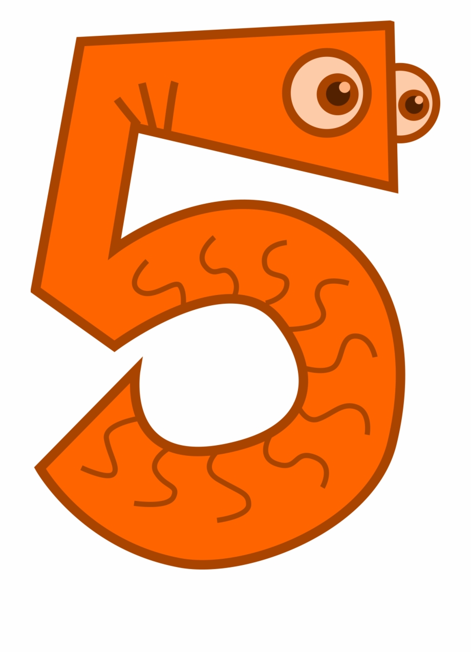 5 Number PNG Images Transparent Background   PNG Play