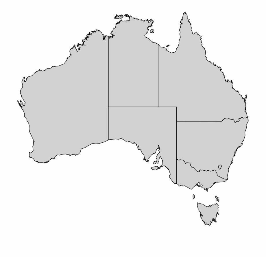 Australia Map Png.Australian States Map 17 Excellent Outline File Australia