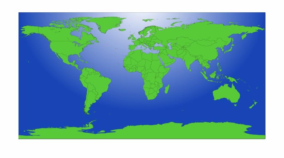 File Blank Us Map Mainland With No States Wikimedia - World ...