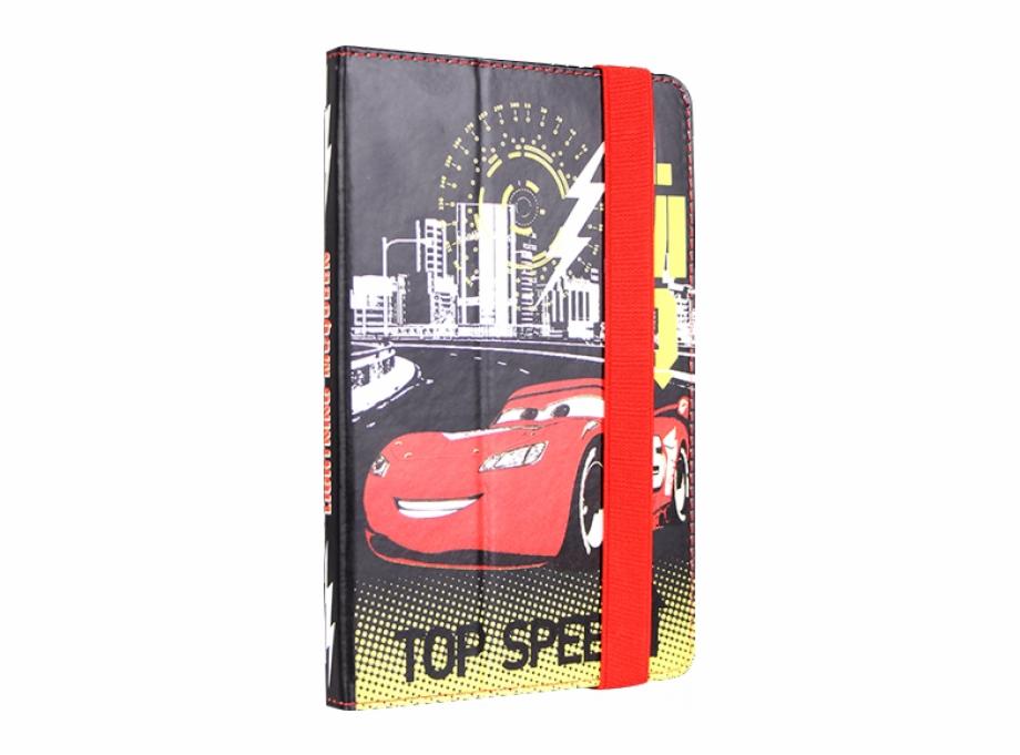 Disney Cars Pu Tablet Cover 7 Inch Custom Car