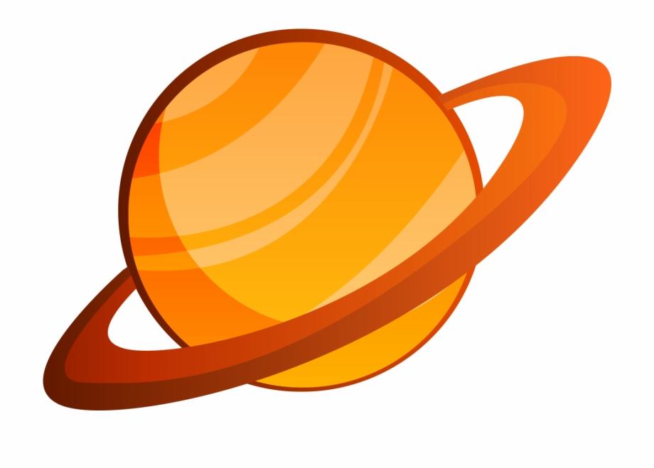 Solar System Planet Cartoon - Saturn Cartoon Png | Transparent PNG ...